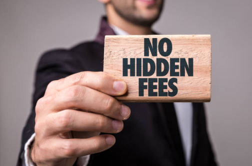 We offer a service with absolutely no hidden fees